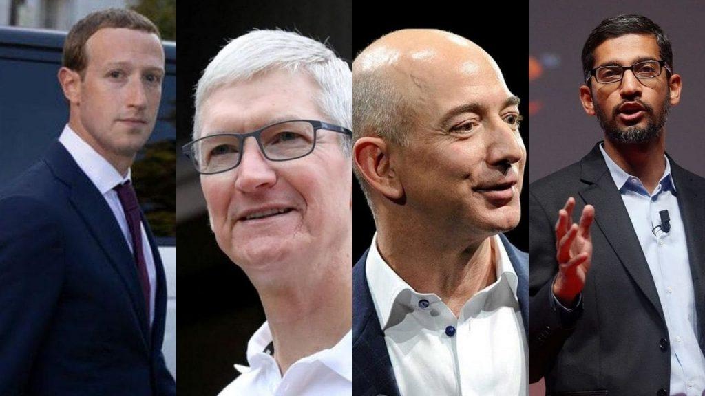 jeff-bezos-mark-zuckerberg-tim-cook-sundar-pichai-Apple-Facebook-Google-Amazon-Instagram-Whatsapp-versus-congress-us-case-browsebytes