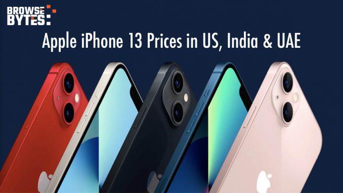 Apple-iPhone13-prices-india-us-uae-dubai-compared